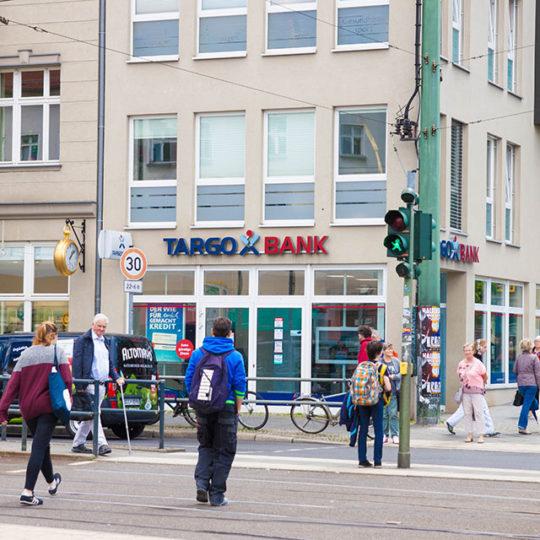 Targo Bank 540x540 - Alrededores
