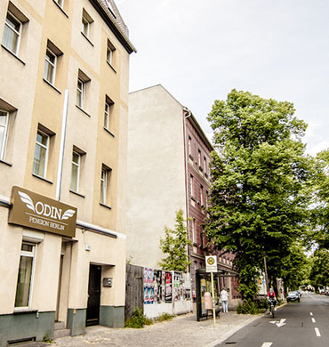 Hotel Pension in Berlin Odin Verkehr - Hotel Pension nah Berlins Zentrum