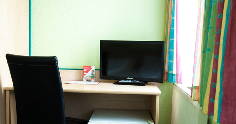LED TV in der Pension - Home